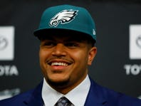 Eagles draft all about offense