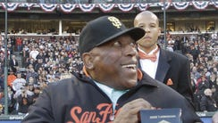 Willie McCovey was elected into the Hall of Fame in