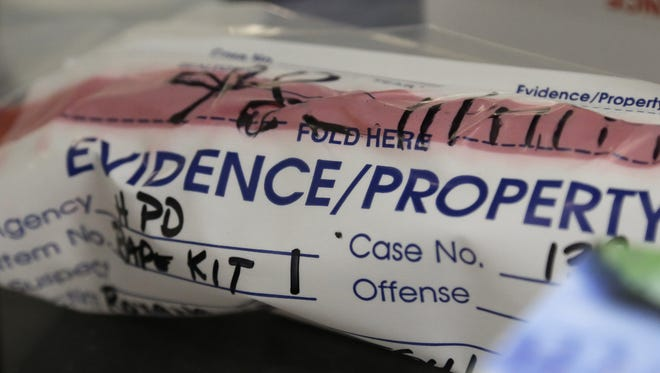 AP/File Rape kits are done to collect evidence in sexual assault cases.