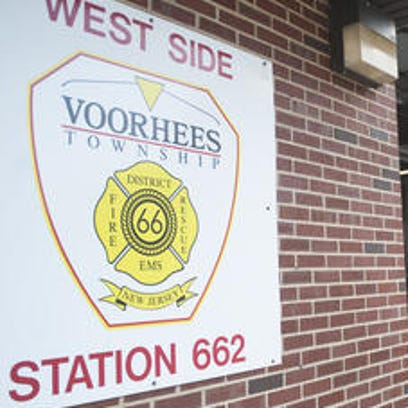 A file photo shows the Kirkwood firehouse in Voorhees,