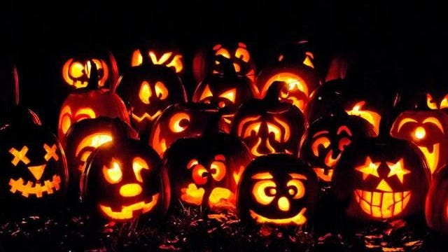 The Glow Jack-O-Lantern Festival at Powell Gardens features 700 pumpkins carved by experts.