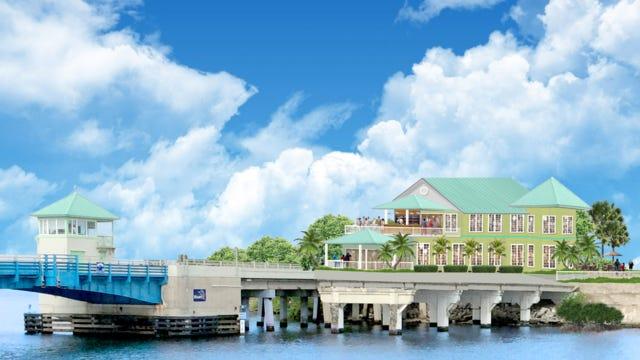 Rendering of the proposed hotel and restaurant in Stuart, just north of the Old Roosevelt Bridge. CONTRIBUTED PHOTO FROM NORTHPOINT VENTURES LLC
