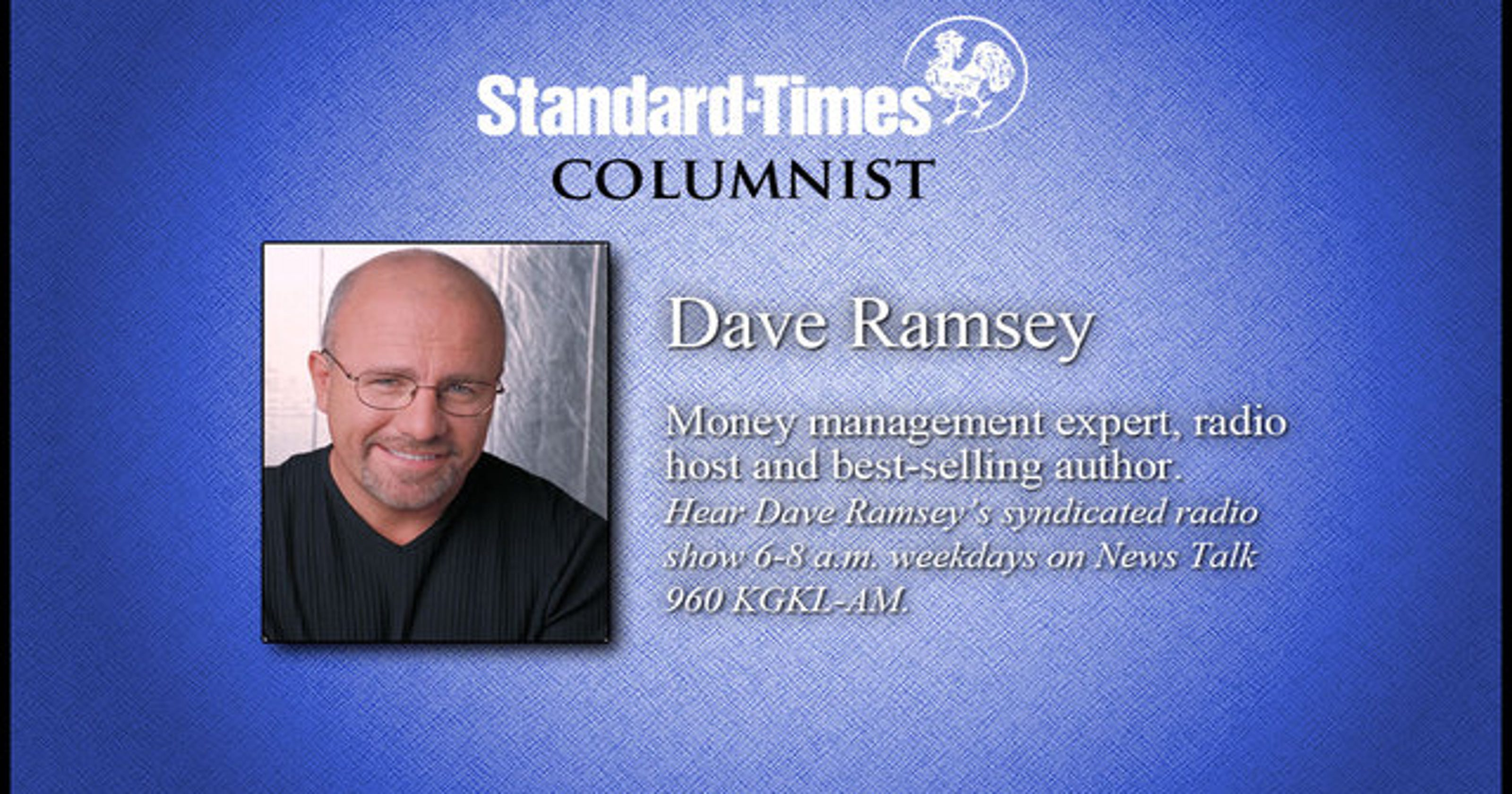 Dave Ramsey Peace Of Mind Should Be Goal For 95 Year Old