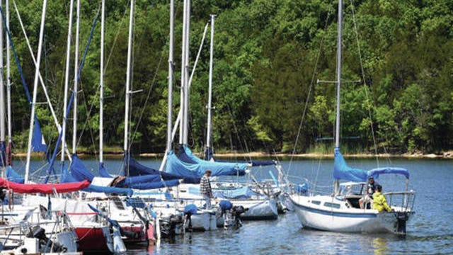 Middle Tennesseans enjoy Hamilton Creek on Percy Priest Lake in Hermitage.