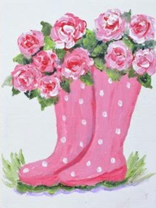 Heartbeats Hunterdon Healthcare And The Paint Party Studio Will Host Town Pink For