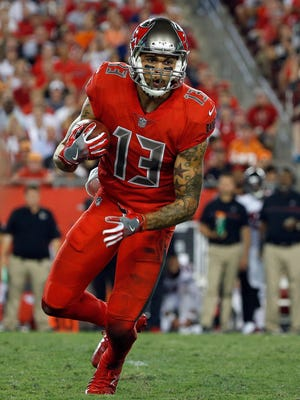 Buccaneers WR Mike Evans leads the NFL with 108 targets.