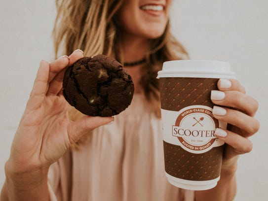 The Nebraska-based Scooter's Coffee chain is opening