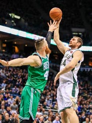 Tyler Zeller, acquired in an early February trade with