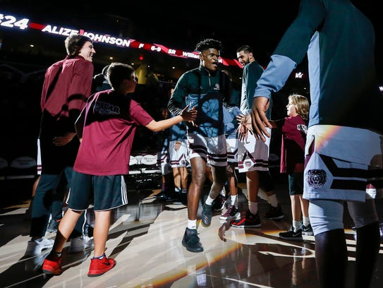 The pressure is on for Alize Johnson, Missouri State's best basketball player.