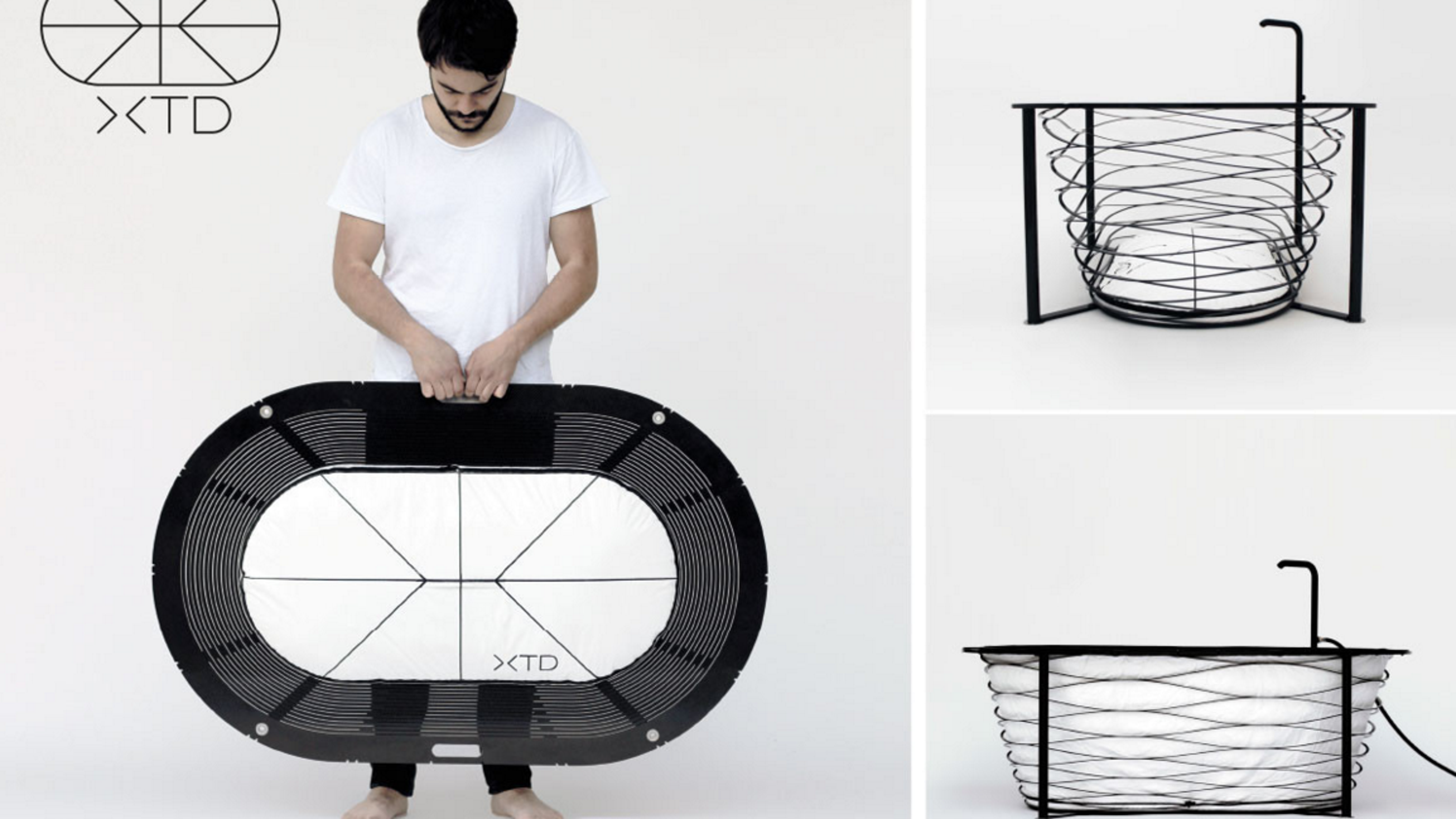 Finally! A collapsible bathtub you can pack in your suitcase