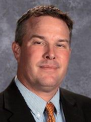 Franklin Road Academy golf coach Josh Flegel