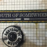 "The CD cover for ""South of Somewhere"" by Shotgun Wedding."