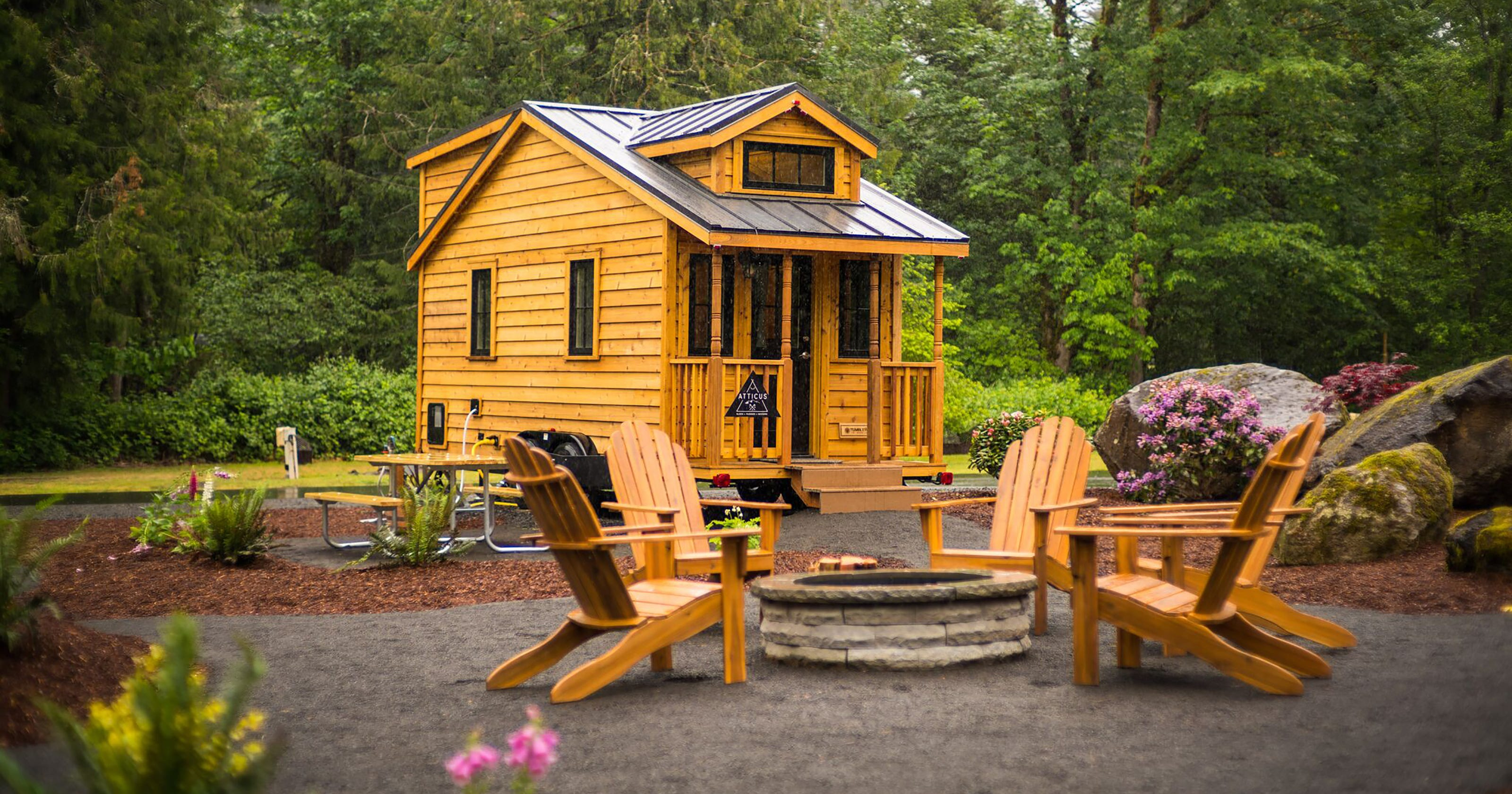 Tiny-house test drive: Try one on vacation before taking the plunge