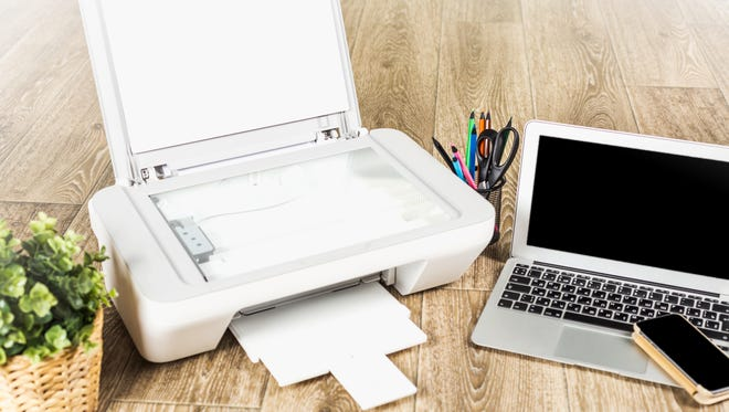 Like laptops and desktops, tablets can provide plenty of functionality and their portable nature makes them very useful for everyday use. But unlike Windows-based computers their functionality is driven by the apps installed on them, not by their base operating system.You will need to install an appropriate app to use a printer.