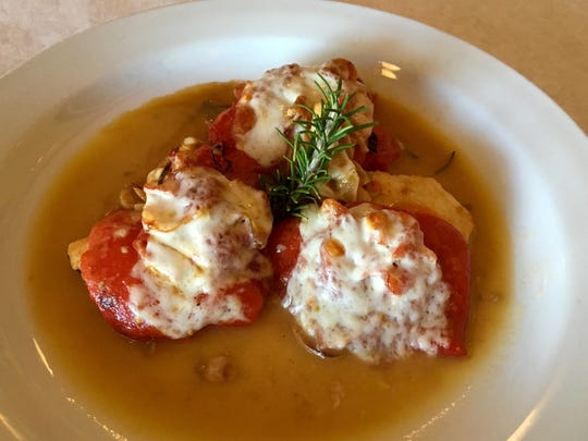 Chicken Cardinale is a Hot Dish from Ristorante Fabio in North Fort Myers.