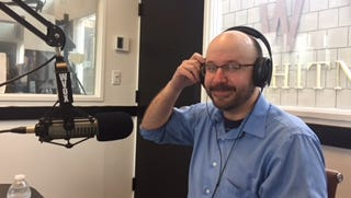 """Journal News investigative reporter David Robinson talks about a project on WVOX's weekly """"Above the Fold"""" program."""