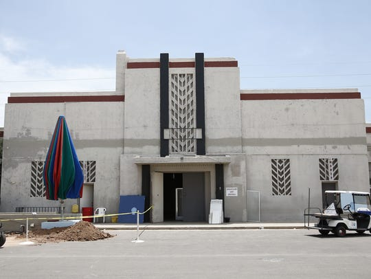 WPA Administration Building was built in 1983 and is