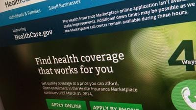 The healthcare.gov website. Nearly 40,000 Iowans can keep their health-insurance subsidies because of a U.S. Supreme Court ruling Thursday in a case about the Affordable Care Act.
