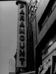 The Paramount theater on North Clinton Avenue started