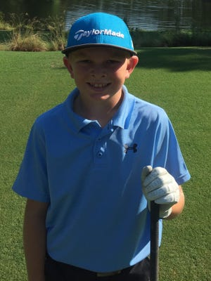 Adam Anderson dominated the Boys 8-11 Division in the VCJGA this season, earning Player of the Year honors.