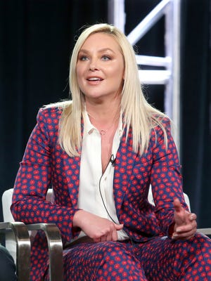 Actress Elisabeth Röhm talked about the importance of finishing production of 'The Oath' in Puerto Rico in the aftermath of devastating hurricanes.