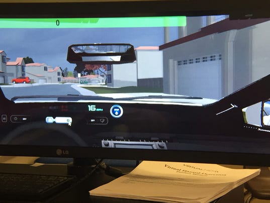 JMHS driving simulator