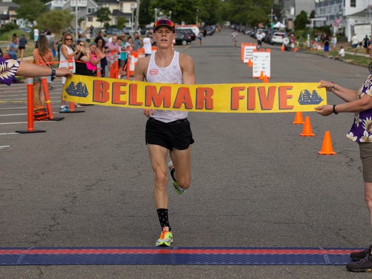 Jake Shoemaker of Harvey Cedars won the Men's race