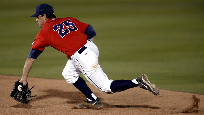 Scott Kingery arrived at Arizona in the fall of 2012 as an invited walk-on, hoping to lock down his spot on the roster. he'll leave as the Pac-12 player of the year.