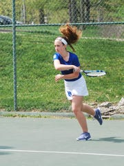 Elizabeth Schwalbach of Highlands during the 10th Region