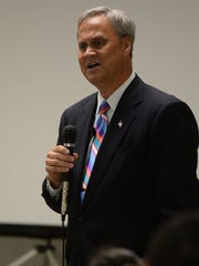 Sen. Jim Merritt is supporting the Greenwood program that gives people who are on probation and addicted to heroin the chance to choose rehab or jail.