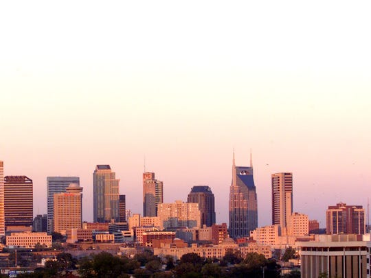 The LifeWay building was on the Nashville Skyline Sept.
