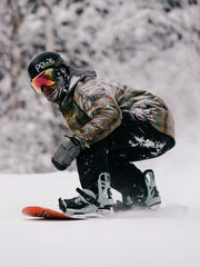 Powe. Snowboards co-founder Adam Vindigni of Chester