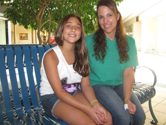 Tammie Corkery of Campbell and daughter Lindsay Ebert,