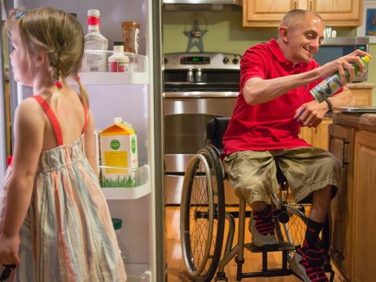 Adam and Kara Ayers do not consider their disabilities