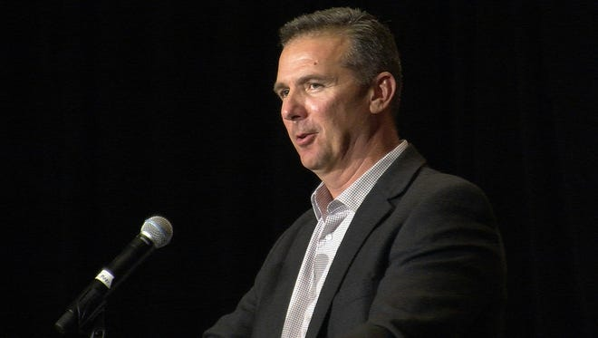 Coach Urban Meyer in Bonita Springs in 2013
