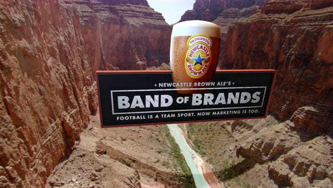 A Newcastle Super Bowl ad.