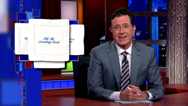 "Stephen Colbert talks Draper James on ""The Late Show with Stephen Colbert."""