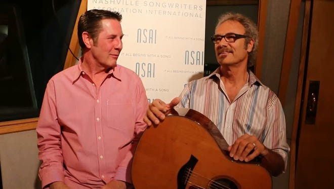 David Jenkins, right, talks about his hit 'Whatcha Gonna Do'