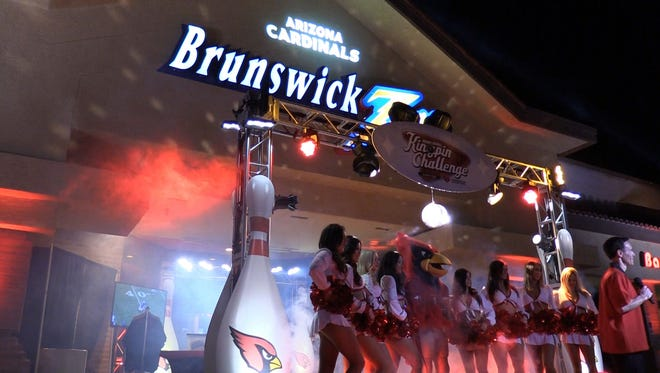 The Arizona Cardinals went bowling in Chandler during their bye week.