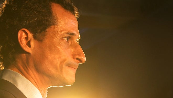 """Anthony Weiner's campaign for New York  mayor is the focus of the documentary """"Weiner."""""""
