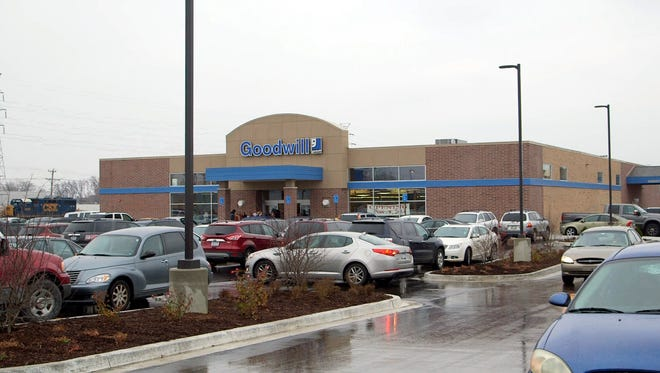 The Livonia Goodwill is at 22651 Middlebelt Road.