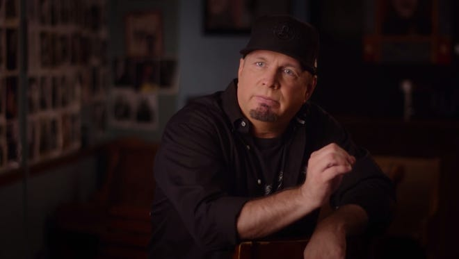 "Garth Brooks is among the musicians featured in ""The Last Songwriter."""