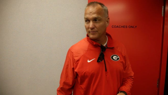Mark Richt is in his 14th season as head coach at Georgia