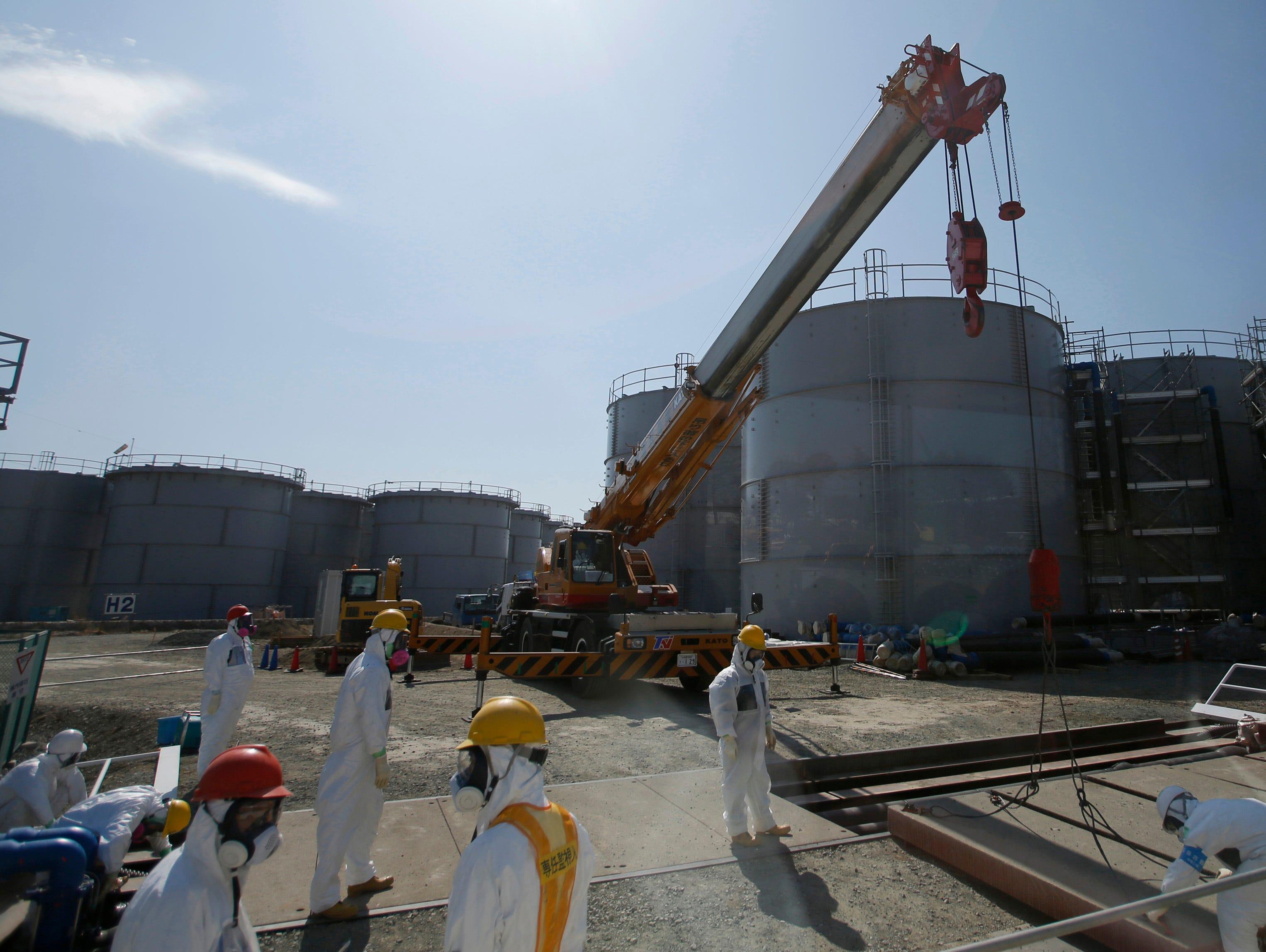 Japan radioactive water