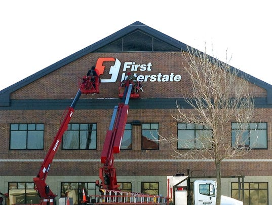 first interstate bank enters market