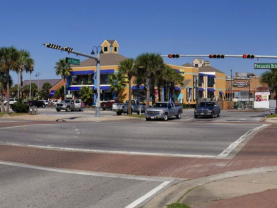 For story on problems with the crosswalks at Pensacola Beach.