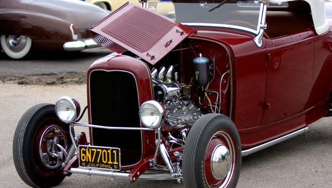 More than 400 hot rods and classic cars are expected at the Bayou Roundup Saturday at Blackham Coliseum.