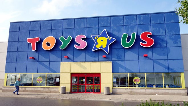 National chain retailer Toys R Us plans to close 735 stores in the U.S.