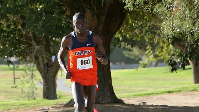 UTEP runner Anthony Rotich
