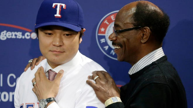 The Rangers made a big offseason splash by signing free agent outfielder Shin-Soo Choo. Manager Ron Washington will enjoy writing Choo's name at the top of his lineup card.